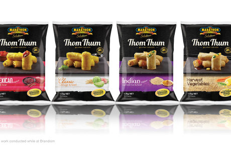 Marathon - Thom Thum (Gourmet Mini Rolls) New Branding & Packaging