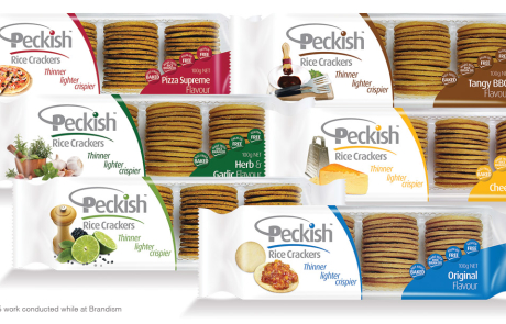 Peckish - New Brand Launch, New Rice Cracker Product Range, Marketing Support & Other Product Category Line Extensions