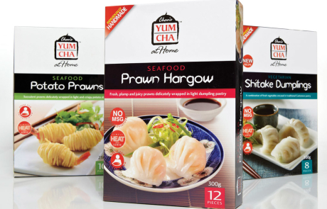 Chan's Yum Cha at Home - Retail Branding & Packaging Re-launch